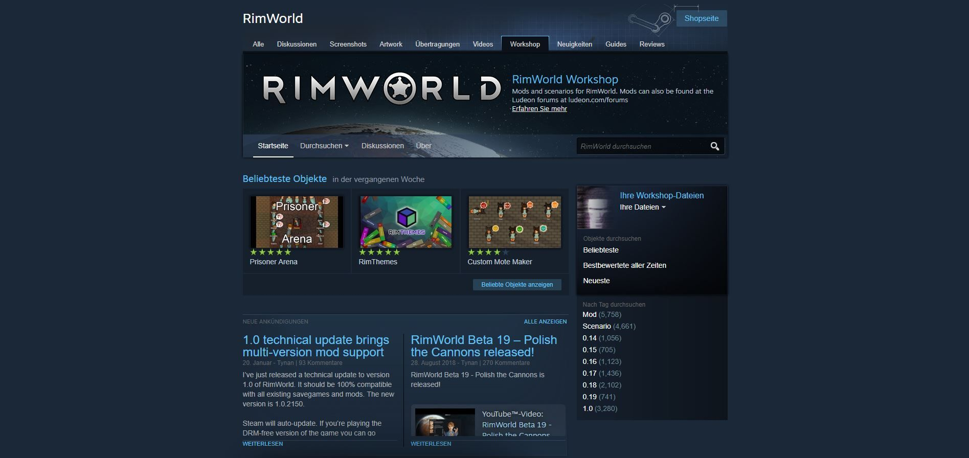 Essential Rimworld Mods — ZwiftItaly