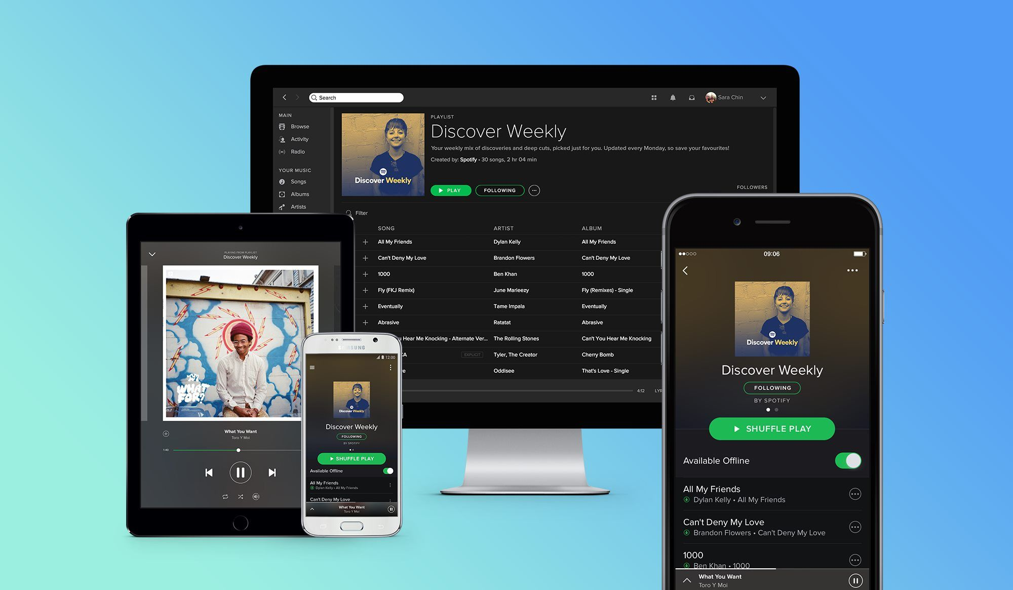 Spotify: Import Your Own Music