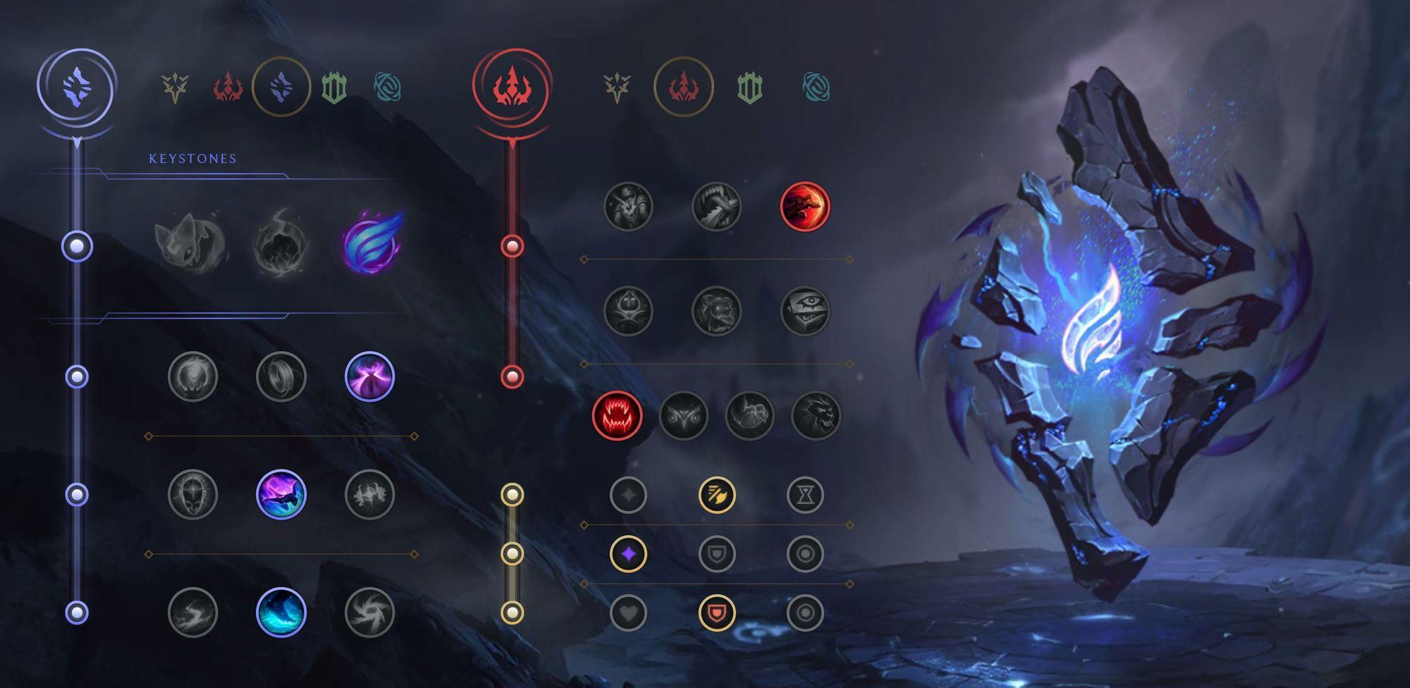 League of Legends Hecarim Jungle Runes Season 11