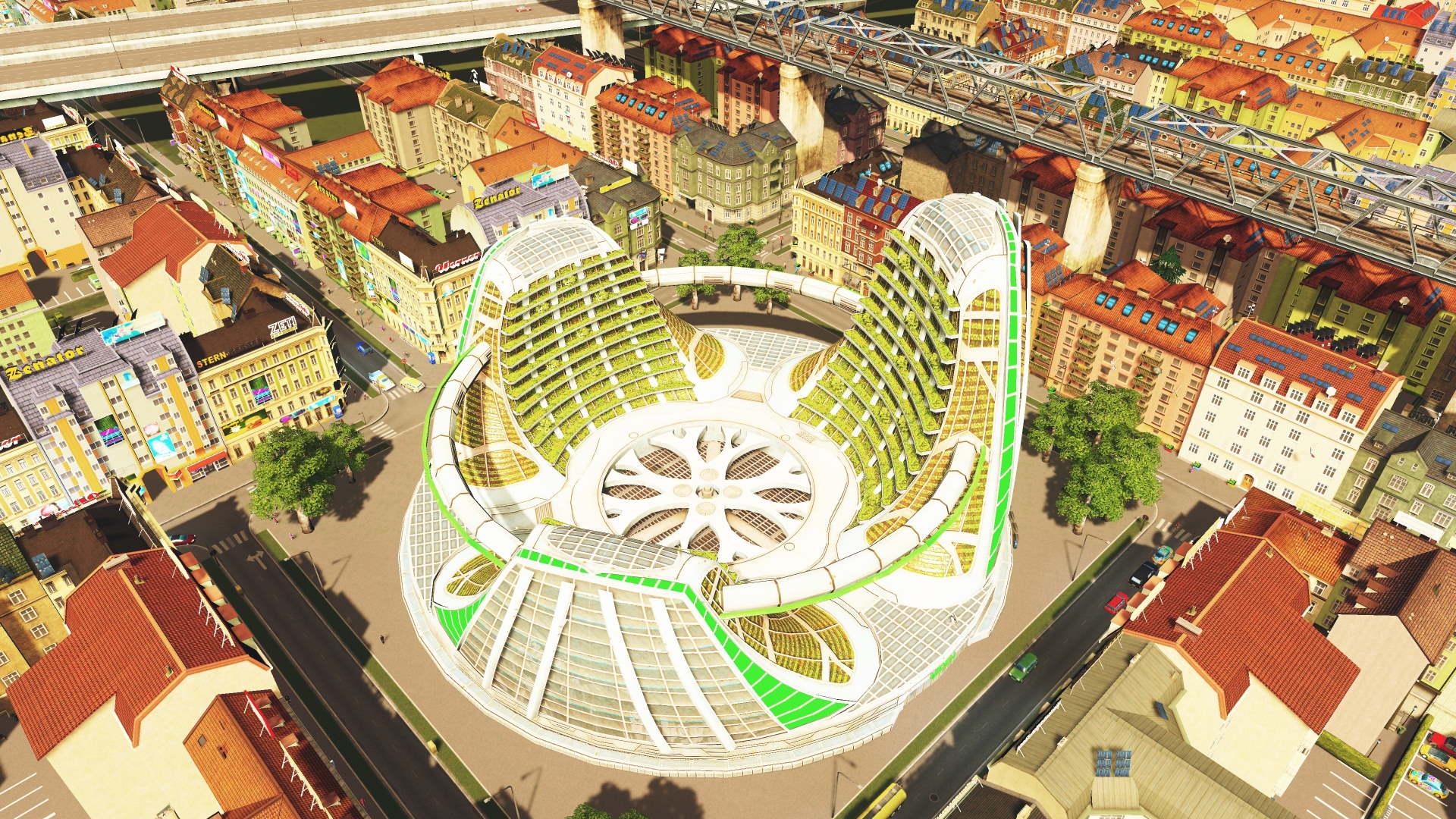 Eden Project in Cities Skylines