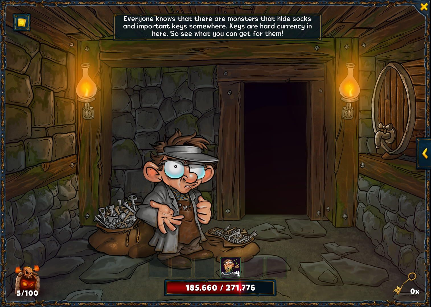 """Legendary Dungeon """"Shady Birthday Bash"""" for the birthday event in Shakes and Fidget"""