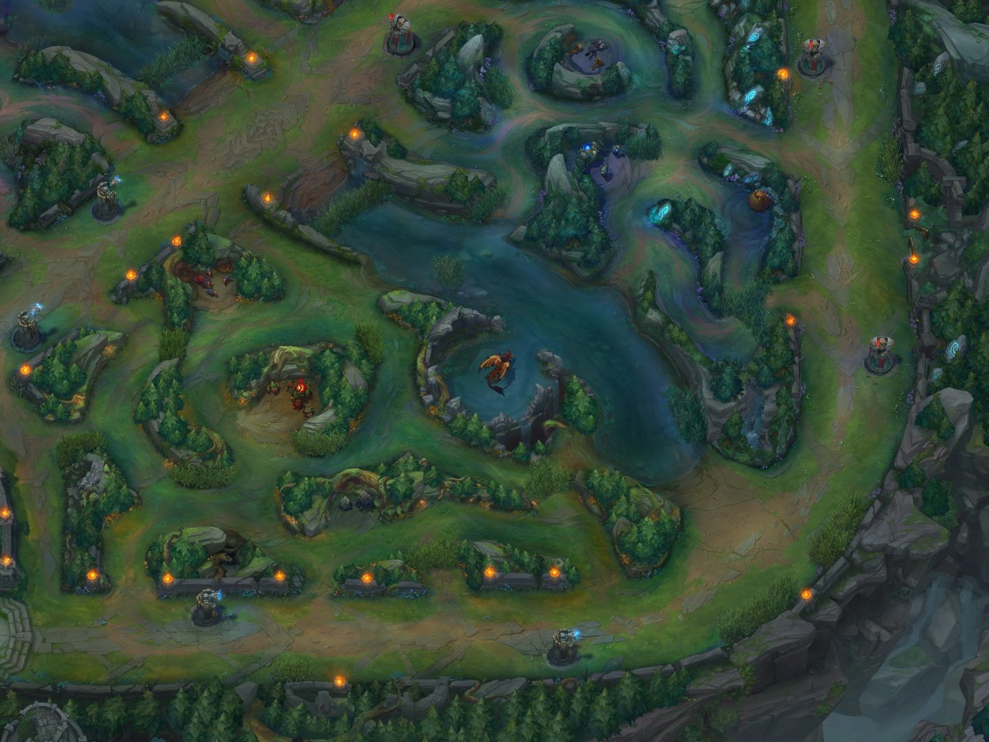 Drake Pit in League of Legends