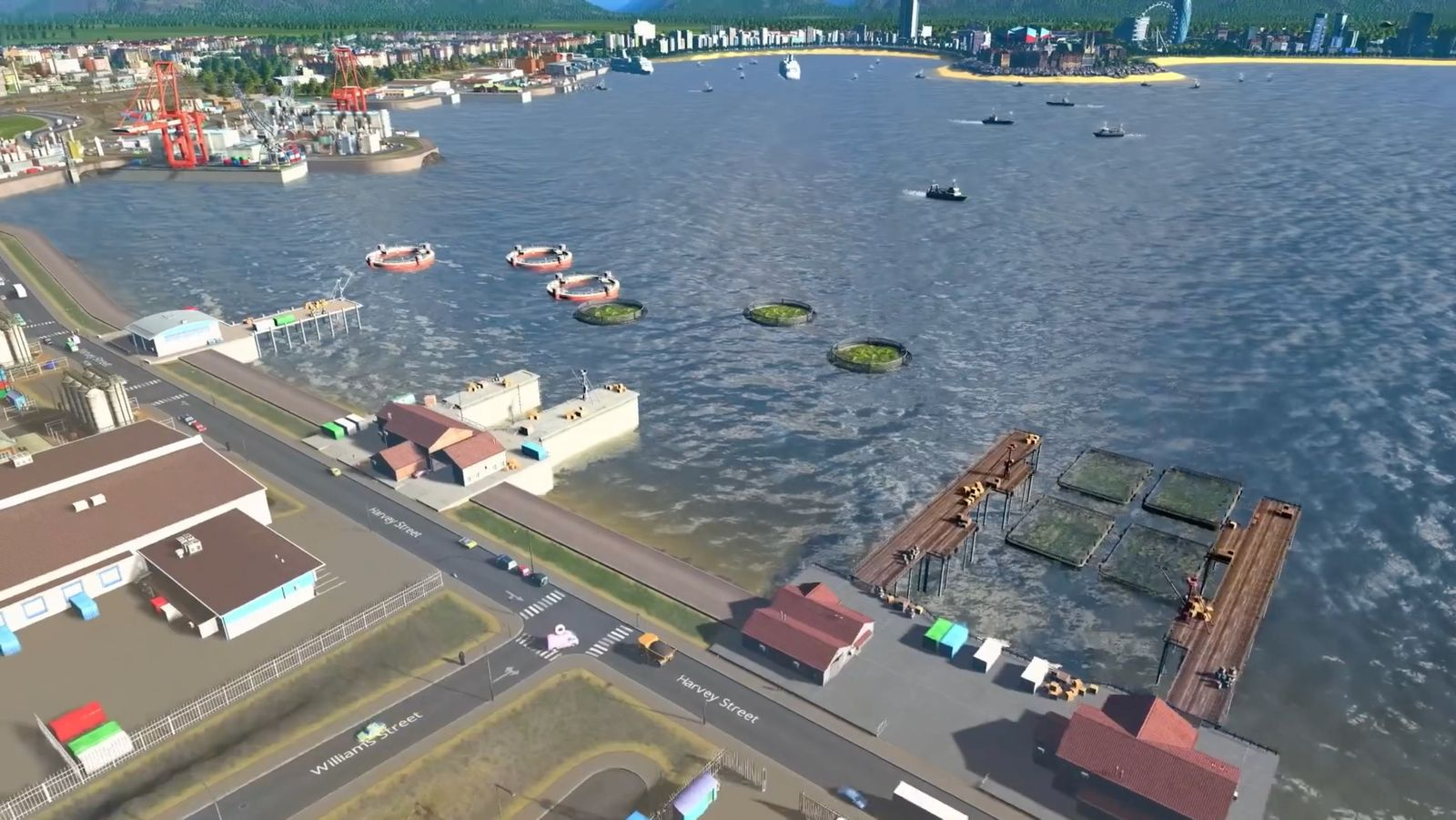 "Cities Skylines: New Expansion is Called ""Sunset Harbor"""