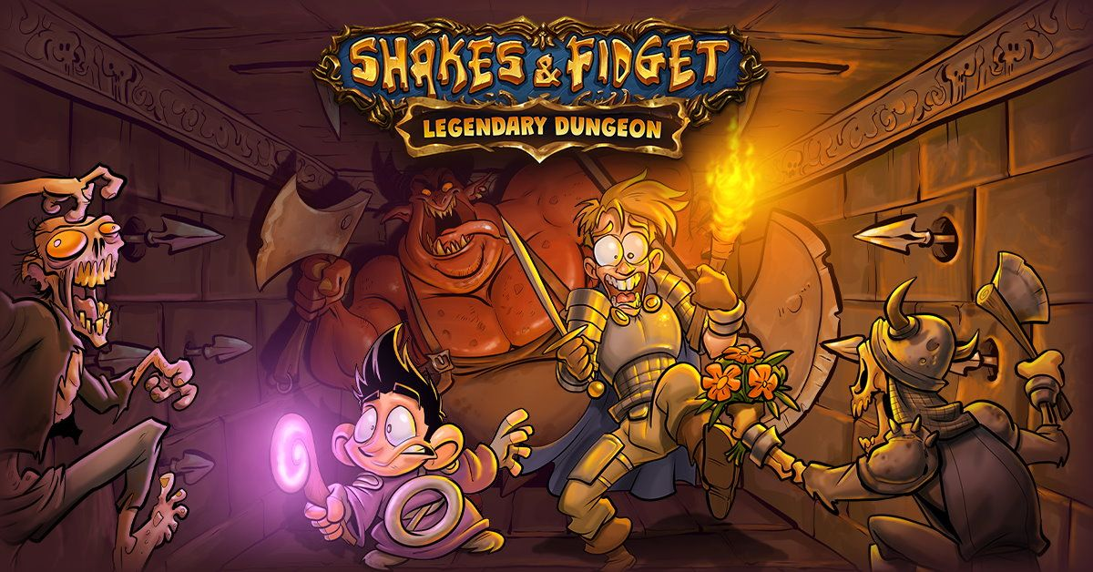 Shakes & Fidget: Legendary Dungeon at the Halloween Event