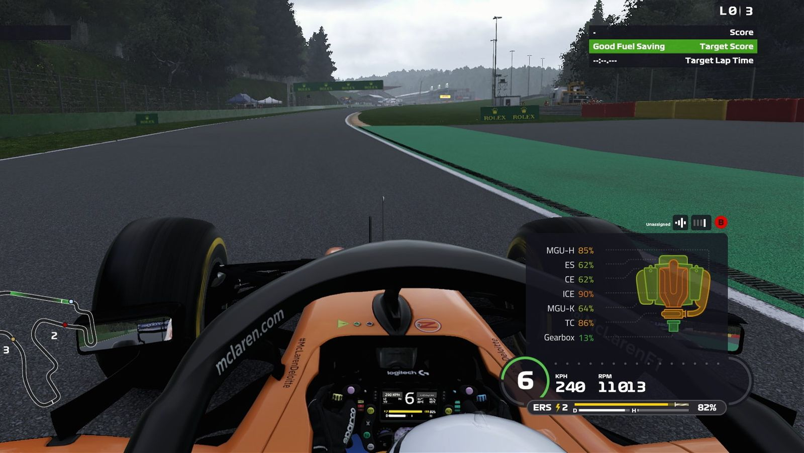 F1 Game: Engine and Wear Explained