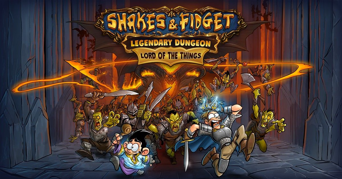 Shakes & Fidget: Christmas Event - The Legendary Dungeon is Back