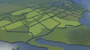 "Cities Skylines: Creating the Map ""USA"""