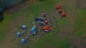 League of Legends: Minion Wave Management and Manipulation