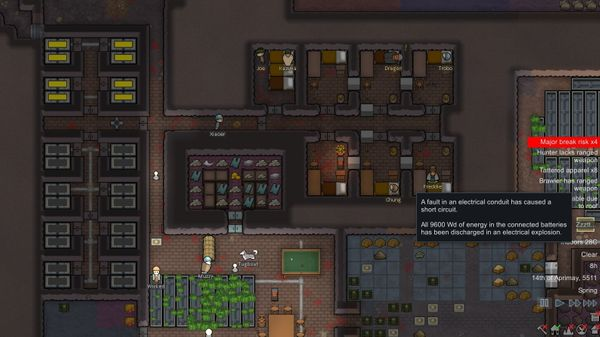 "RimWorld: Handle Better the ""Zzztt""-Event (Short Circuit)"